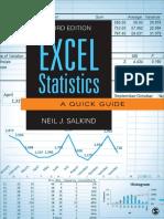 EXCEL- Statistics in Excel