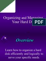 Organizing and Managing Hard Disk
