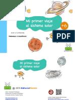 Mi Primer Viaje Al Sistema Solar