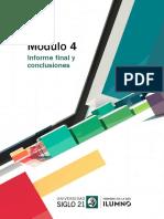 Guía Para Informe Final y Conclusiones
