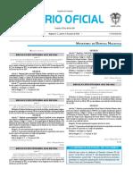 Diario oficial de Colombia n° 49.899. 09 de junio de 2016