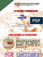 Capituloi i - Petrologia
