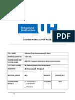 Research Paper by Udhaiyah Priya