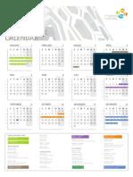 2013 Operational Calendar A1