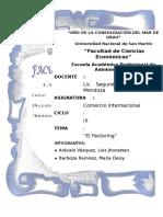 Factoring en el Perú