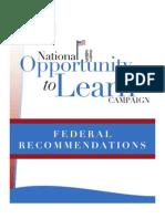 Otl Schott Federal Recommendations Final