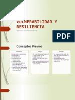 Vulnerabilidad y Resiliencia