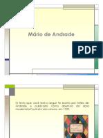 Sobre Mario de Andrade