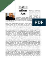 instillation art