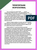 PERNYATAAN PROFESIONAL 2.doc