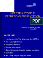 Hot Tap Operation