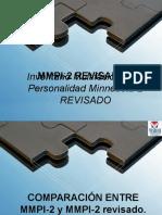 Mmpi 2 Revisado, presentacion