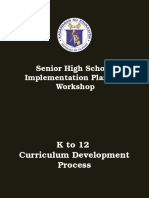 SHS Curriculum and Program Requirements