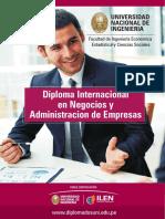 Diploma Internacional en Negocios y Administracion de Empresas