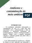 Ambiente e Contaminacao Do Meio Ambiente