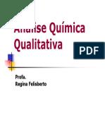 analise quimica qualitativa
