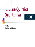 analise quimica qualitativa
