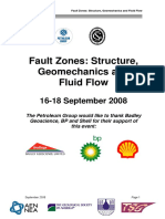 Fault Zones Abstract Book