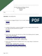 July Test 09 Physics F4 Scheme