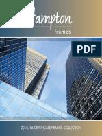 Hampton Frames 2015 Commercial Range