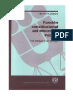 Funcion Constitucional Del Ministerio Publico