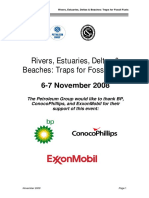 Rivers Estuaries Deltas and Beaches Abstract Book, 6-7 November 2008