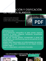 Calcificacificación y Osificación de Tejidos Blandos