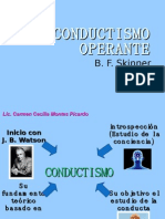 Conductismo Operante-Carmen Montes