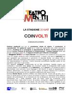 Cartella Stampa_Stagione 2016_17 TEATRO MENOTTI