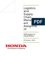 42889599 Supply Chain Management System of Honda Motors