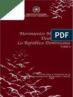 Movimientos Migratorios desde y hacia República Dominicana Tomo II