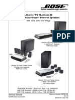 bose av28 service manual power supply flash memory rh scribd com Bose Lifestyle 28 Parts Bose Wireless