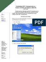 MatrikonOPC Windows XPSP2 2003SP1 DCOM Configuration