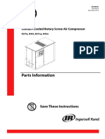 Ingersoll-Rand R37-45 - Manual de Pecas