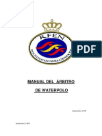 Manual Arbitro Waterpolo