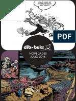 Novedades de Dibbuks para julio de 2016