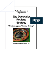 Dominator Roulette Strategy