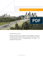 AutoCAD Civil 3D Avanzado 2016