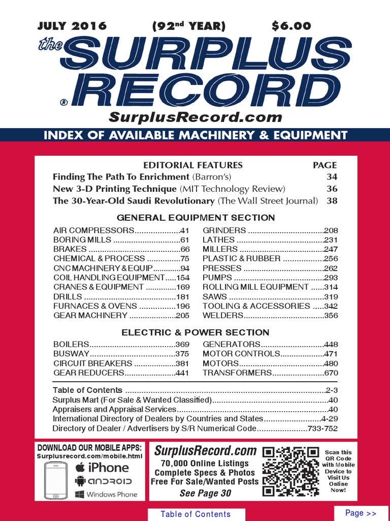 July 2016 Surplus Record Machinery Equipment Directory High Yield Gold Plated 14k Circuit Boards Scrap Recovery For Sale