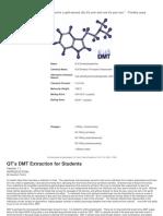 DMT Extraction - Quantum Tantra