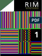 Revista de Investigación Multimedia N .1