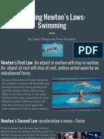 applying newtons laws- sports