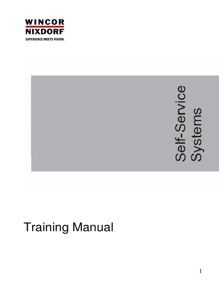 training manual 2 pdf power supply electrical connector rh scribd com wincor nixdorf 4915 service manual pdf wincor nixdorf atm service manual