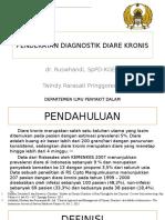 Pendekatan Diagnostik Diare Kronis