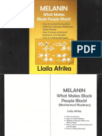 Melanin What Makes Black People Black! by Llaila Afrika PDF