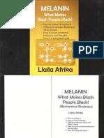 Melanin What Makes Black People Black! by Llaila Afrika PDF