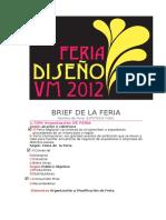 Brief de La Feria de diseño