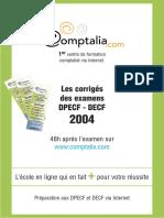Les corrigés des examens DPECF - DECF2004.pdf