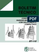 CONSTRUÇÃO DE PAREDES MONOLITICAS SOLOCIMENTO - ABCP BT-110.pdf