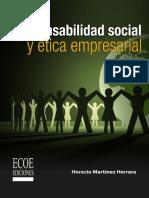 Responsabilidad Social y Etica Empresarial